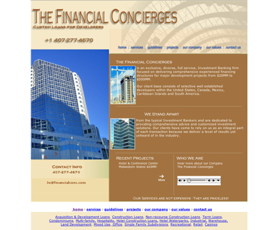 Financial Concierges